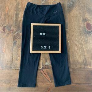 Nike Dri-Fit Black Crop Leggings